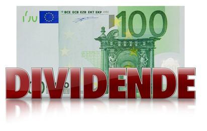 dividende banknote geldschein 100 euro