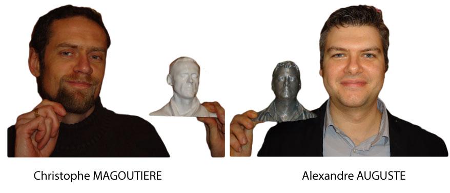 Christophe MAGOUTIERE et Alexandre AUGUSTE