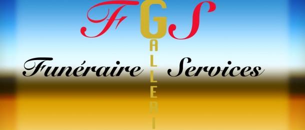 Logo Funéraire Galerie Services