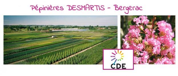 CDE24 aux pépinières DESMARTIS-Bergerac