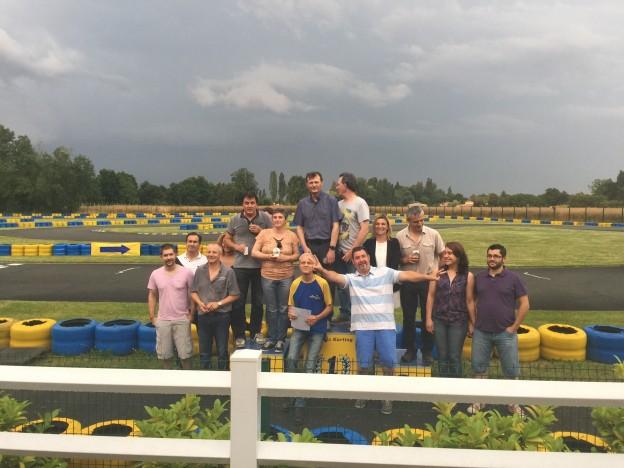 Soirée Karting 2016 du CDE24 à Bergerac
