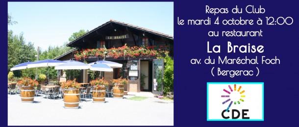 Restaurant La Braise Bergerac