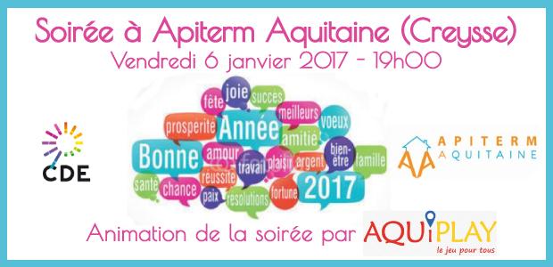 voeux cde24 Apiterm Aquitaine