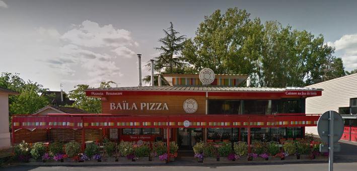 repas du cde au baila pizza à Bergerac