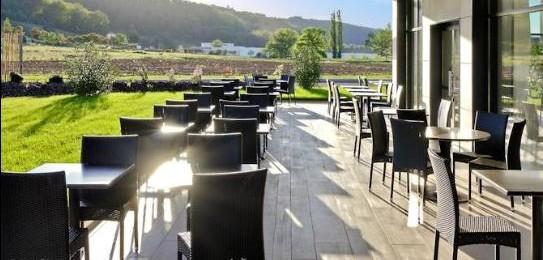 "terrasse du restaurant ""Le 7"""