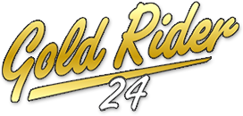logo gold rider 24